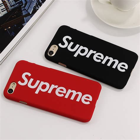 Iphone 7 7 Supreme Cover Casing Hardcase supreme fashion pc for iphone 7 7 plus cover letter celular plastic phone cases