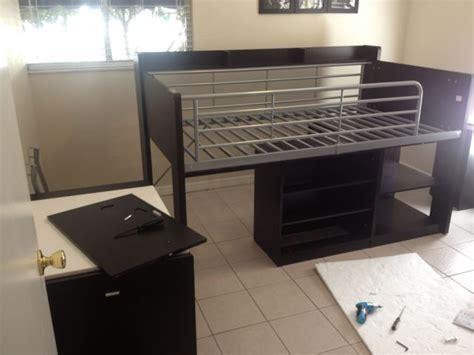 assembling charleston loft bed carter assembly