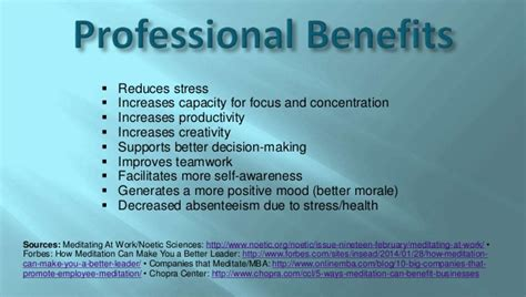 Https Www Edu Mba And Meditation by Benefits Of Meditation And Profound Meditation Ubiquity