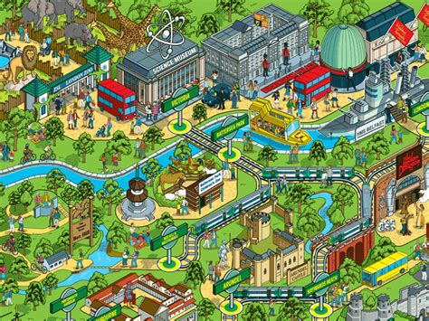 theme park names in london theme park maps mapping london