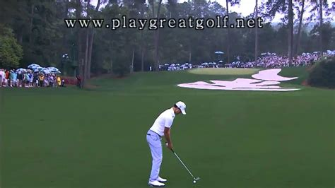 adam scott iron swing adam scott iron swing 2013 masters youtube