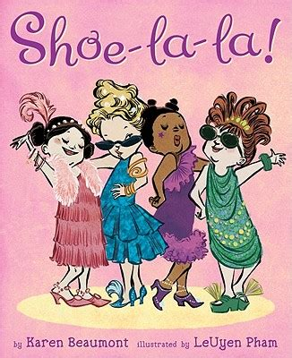 shoe book book review and giveaway shoe la la by beaumont there s a book