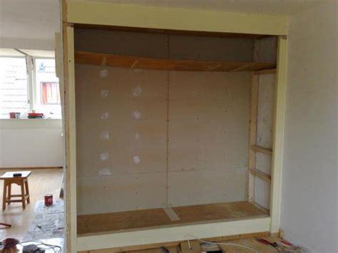 inbouwkast frame zelf een inbouwkast maken in 9 stappen bouwsuper