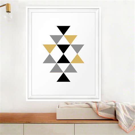 printable abstract wall art gold black printable abstract geometric art aztec