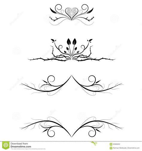 decorative line divider photoshop decorative line divider heart www imgkid the image