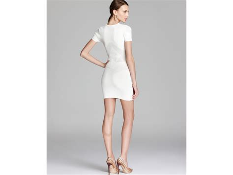 lyst connection dress montana knits perforated in