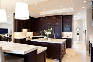 25 best ideas about espresso kitchen cabinets on