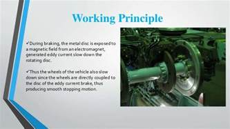 Air Brake System Working Principle Eddy Current Brakes
