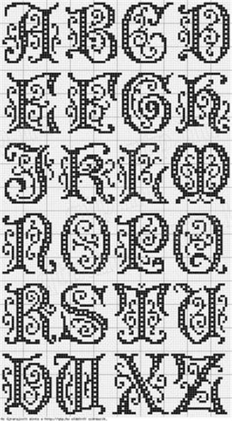 decorative eiderdown crossword 9 letters alphabet knit graph font alphabet free cross stitch