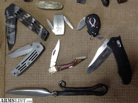 knife collection for sale armslist for sale knife collection lot