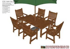 Patio Set Plans by Teak Patio Furniture Plans Trend Home Design And Decor