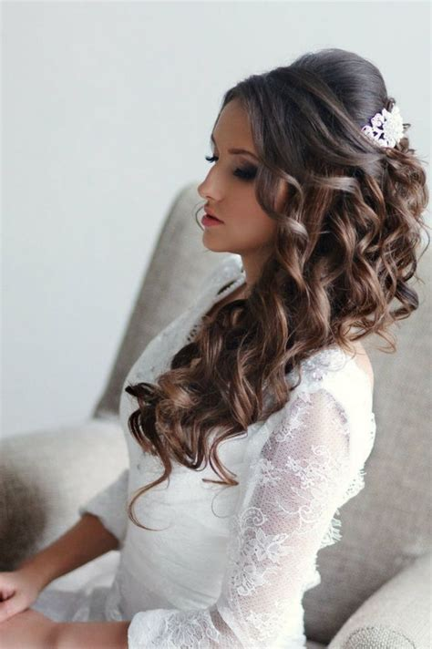 Wedding Dress Styles For Hair by Wedding Hair Style For Thick Hair