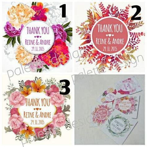 Kartu Ucapan Terimakasih Ulang Tahunthank You Card 01 harga kartu ucapan terima kasih thanks card untuk di souvenir pernikahan id priceaz