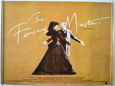 the fencing master fencing master the a k a el maestro de esgrima original cinema movie poster from