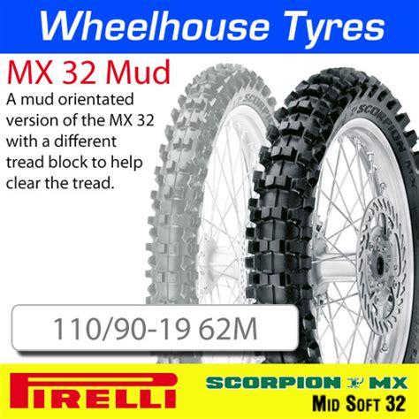 Goon Excellent Soft M 32 110 90 19 62m mx32 mud pirelli scorpion nhs