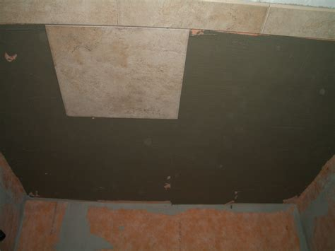 Installing Tile Shower How To Install Tile On A Shower Ceiling