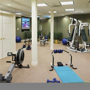 home exercise room simple home decoration tips