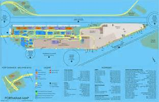 Miami Terminal Map by Miami Cruise Port Car Rental Trend Home Design And Decor