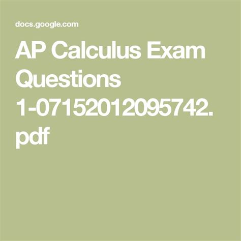 sle questions for calculus ab section 1 best 25 ap calculus ideas on pinterest calculus math