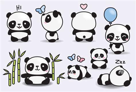 high quality clipart premium vector clipart kawaii pandas pandas