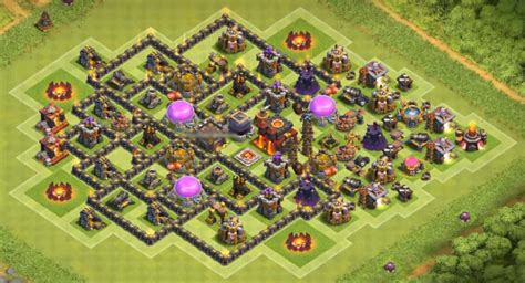 coc effective layout 10 best town hall th8 farming bases 2017 cocbases