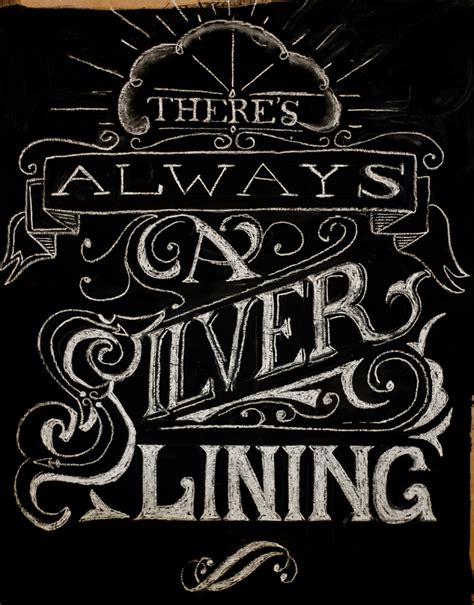 chalk lettering 101 an introduction to chalkboard lettering illustration design and more books chalk lettering always a silver lining make