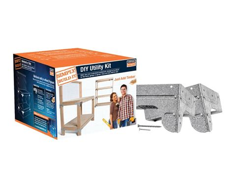bench kit simpson strongtie kwb1e simply build it heavy duty