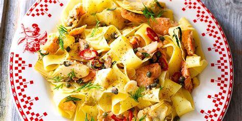 smoked trout pasta