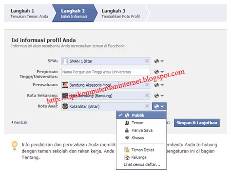 cara membuat akun facebook kloning cara membuat facebook fanspage group tutorial fb