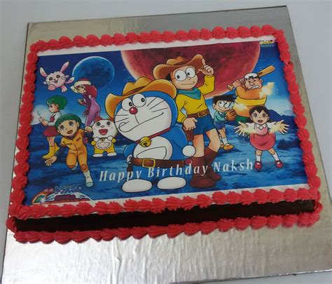 Foto Torte by Doraemon Photo Cake 1kg Inr1099 Free Delivery