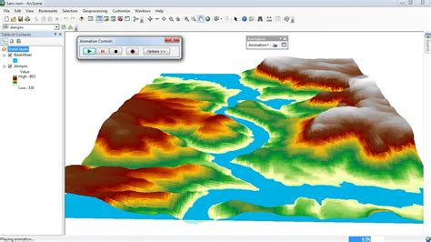 arcgis scene tutorial arcgis 3d analyst arcscene animation of flood