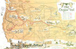 oregon trail on a map thanks for the dandelions dr prettyman blackenedroots