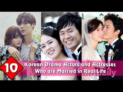 actor and actress real life top 10 korean drama actors and actresses who are married