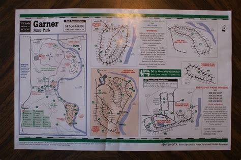 garner state park map garner state park page