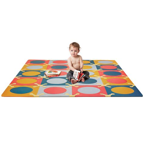 skip hop playspot floor mat brights  count
