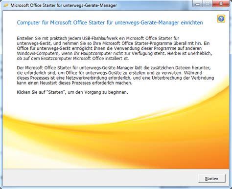 microsoft office starter freeware de