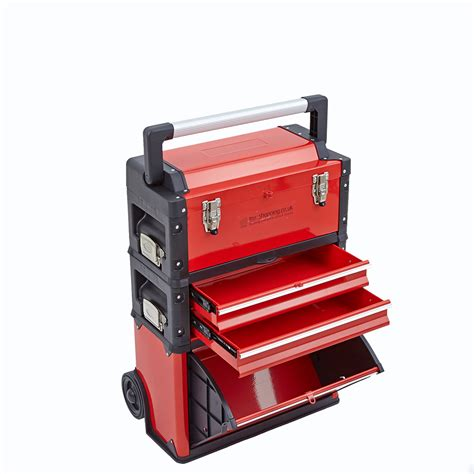 tool box storage cabinet 3 in 1 trolley tool box set 4 drawers boxes storage
