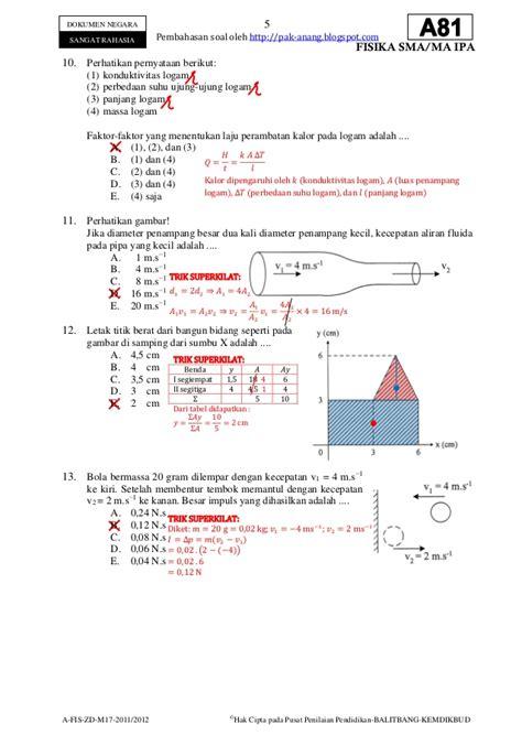 Cd Sbmptn Fisika Terraversity contoh soal ujian nasional fisika sma dan pembahasannya pridekindl