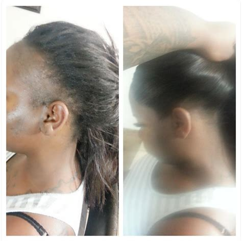 sew in edges with thin edges hairstyles for no edges gallery