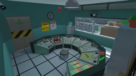 Build My Room nuclear power plant simulator by devour