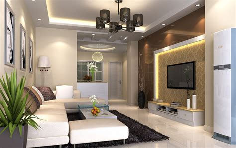 living room style 3d house