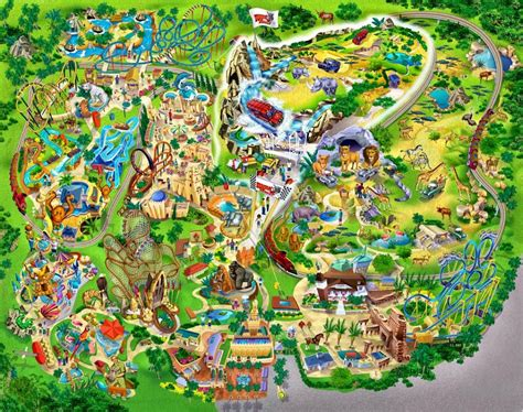 busch gardens ta bay usa tourist destinations