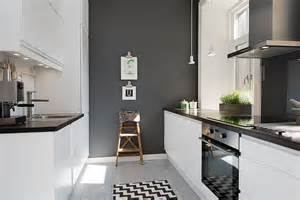 Gray Kitchen Walls With White Cabinets More Grey