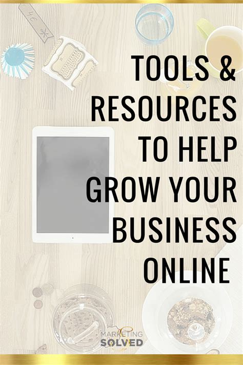 resources  tools marketing solved