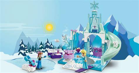 amazon lego disney anna elsas frozen playground set