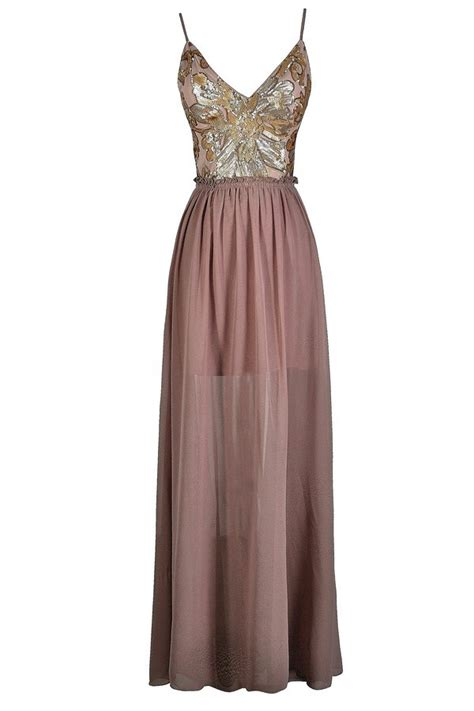 Promo Maxi Cavally Dusty Pink 0138 Sale Pink Beaded Maxi Dress Dusty Pink Embellished Maxi Dress