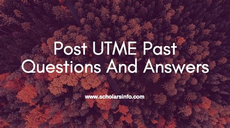 oau post utme tutorial obafemi awolowo university post utme past exams questions