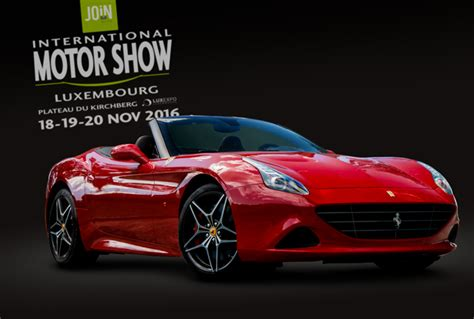 Lu Alis Motor join motor show luxembourg 18 19 et 20 novembre