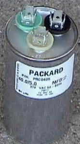 carrier puron capacitor i a carrier puron a c model 38esg or 38ezg the compressor would not come on i had my