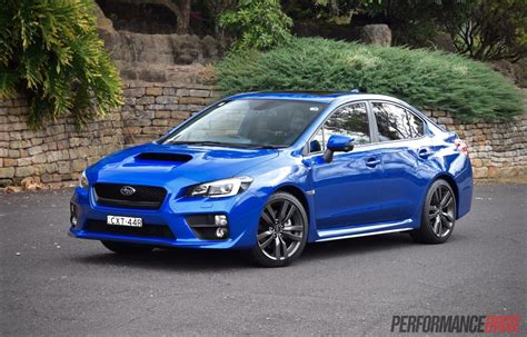 2016 Subaru Wrx Review Manual Cvt Auto